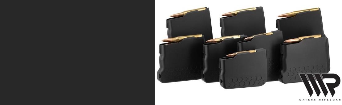 Large gamme de chargeurs pour carabines Tikka T3 et T3X, CTR, TAC A1, Sako TRG 22, Verney Carron Speedline et Impact LA